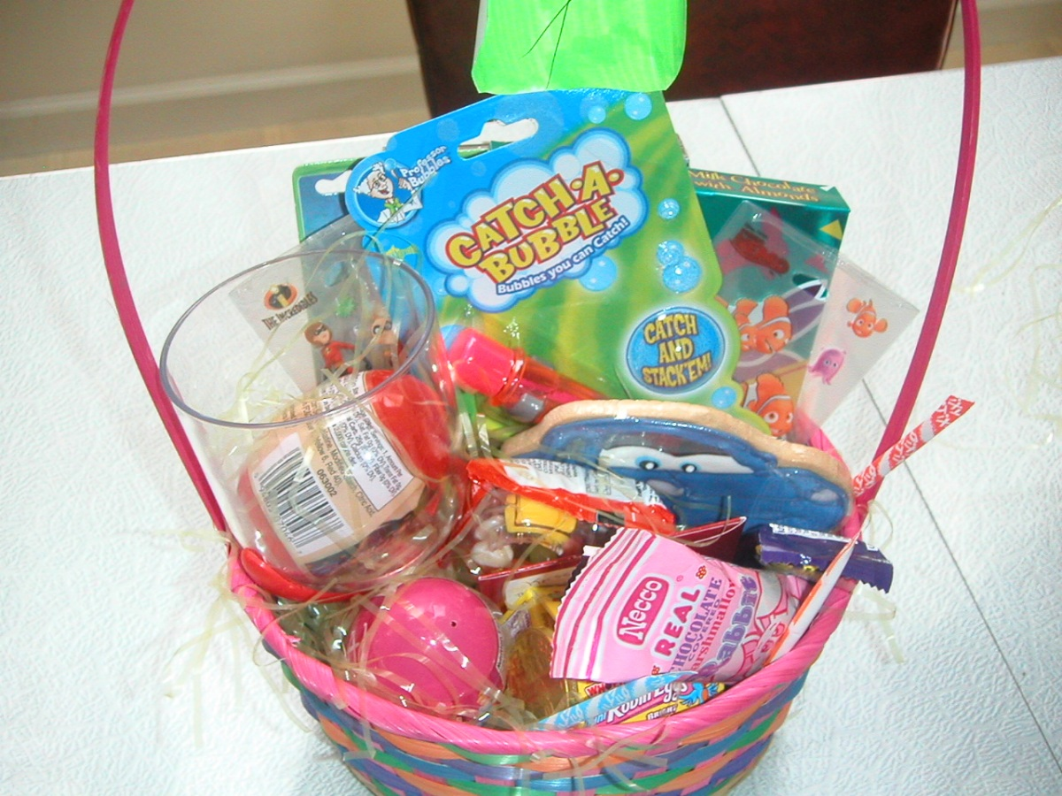 An Easter basket for Krissi! April 7, 2007.