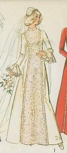 02 1970s Wedding Gown