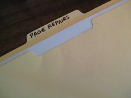15 - PageRepairFolder