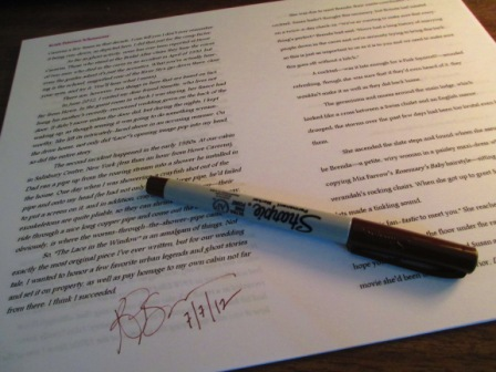 17 - Signing the Afterword